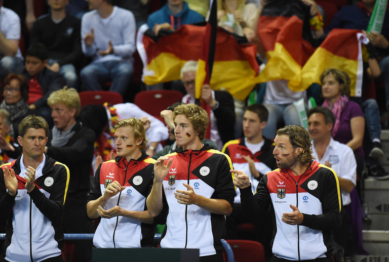 Davis Cup Team Applaus