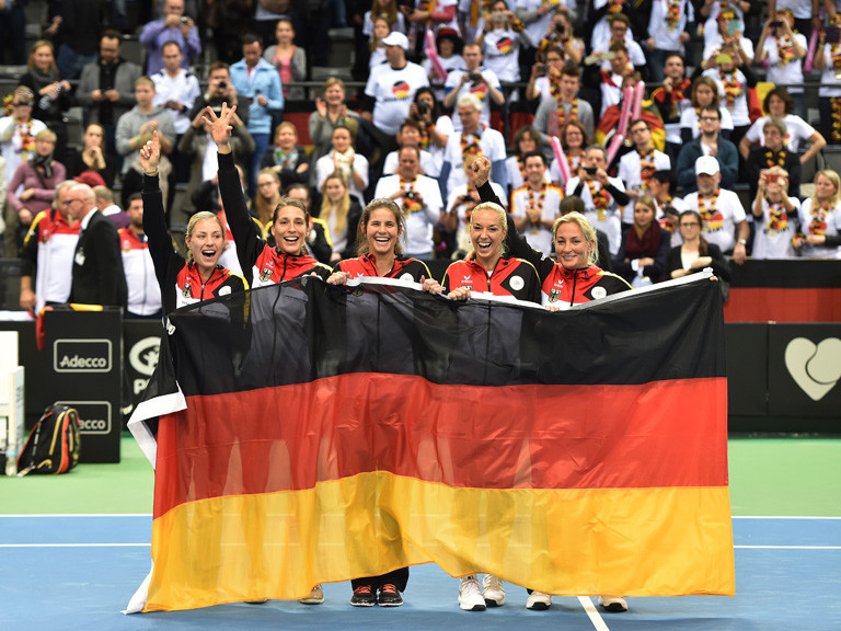 Fed Cup Team 2015 GER - AUS