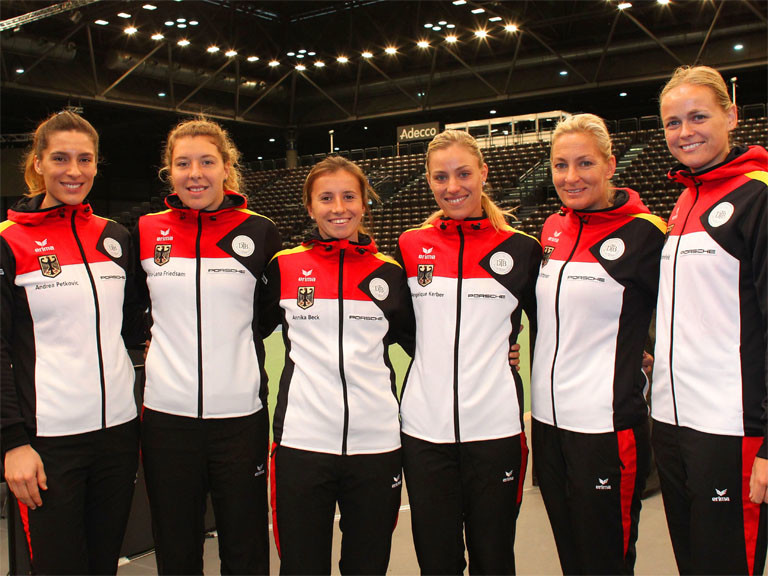 Fed Cup Team_Leipzig 2016