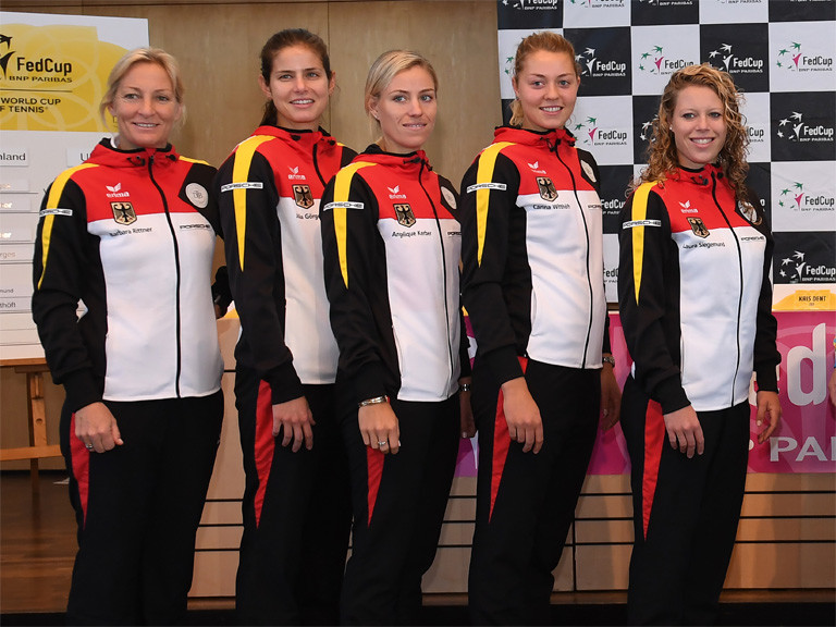 2017 Fed Cup Team April