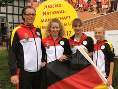 2017_ESC_Team Juniorinnen U14 mit Dier