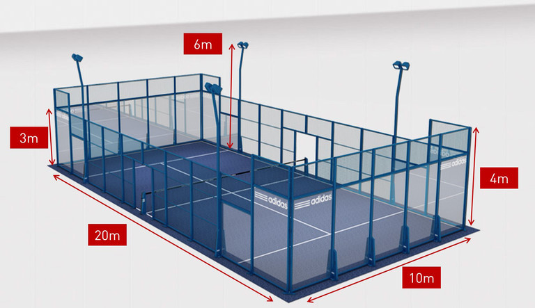 20141208_Padel Tennis Court