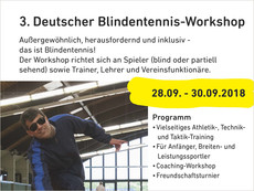 Blindentennisworkshop