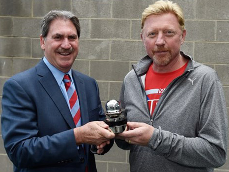 2016 Boris Becker Commitment Award