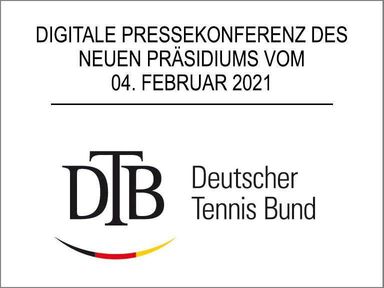 Pressekonferenz des DTB