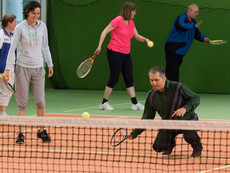 Training Blindentennis