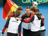 Deutsches Team on Court